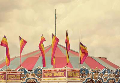 Festivals Fairs Carnival Photograph - County Fair by Juli Scalzi
