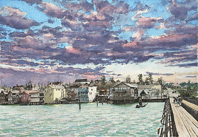 Coupeville Print by Perry Woodfin