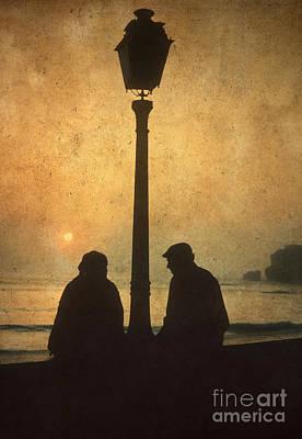 Elderly Photograph - Couple by Bernard Jaubert