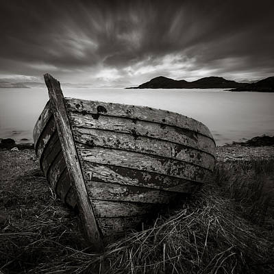 Bowmans Beach Photograph - Cove Boat by Dave Bowman