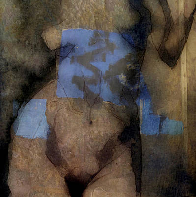 Nude Woman Digital Art - Cover Up  by Paul Lovering