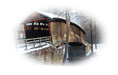 Covered Bridge Original by Todd Hostetter