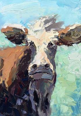 Steer Painting - Cow by Agostino Veroni