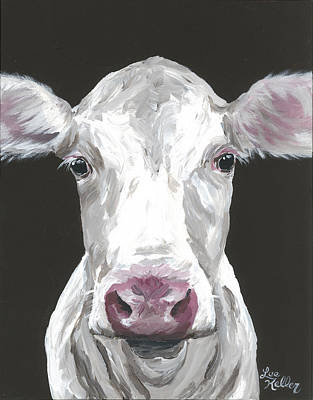 Cow Painting - Cow Painting, Mabel by Lee Keller