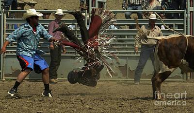 Cowboy Art 6 Print by Bob Christopher
