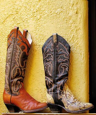 Cowboy Boots For Sale Original by Elvira Butler