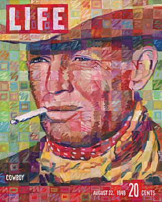 Cowboy Print by Randal Huiskens