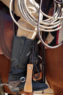 Cowboy Tack Original by Joan Carroll