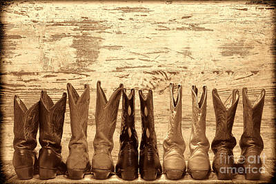 Cowgirls Night Out Print by American West Legend By Olivier Le Queinec