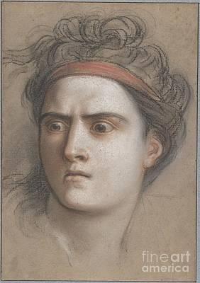 Coypel Print by Charles Antoine