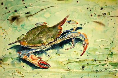 Crabby Appleton Print by Shirley Sykes Bracken