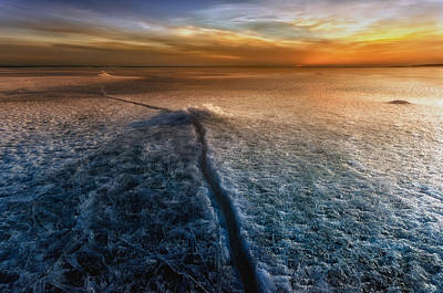 Cracks Photograph - Crack In The World by Piotr Krol (bax)