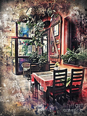 Cracow Painting - Cracow Kazimierz by Justyna JBJart