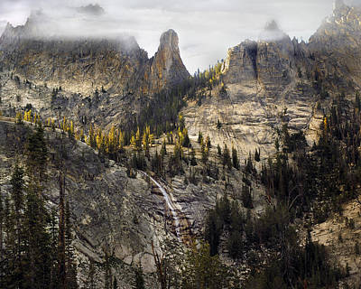 Crag Photograph - Crag Mountains by Leland D Howard