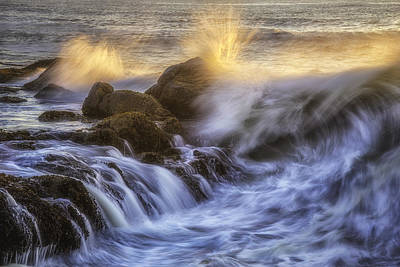 Darren Photograph - Crashing Light by Darren  White