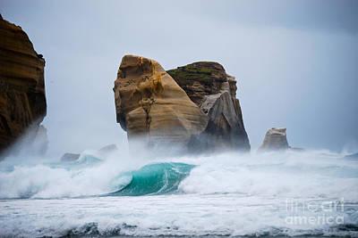 Crashing Wave Print by Cesar Marino
