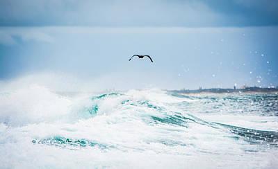 Crashing Waves Print by Parker Cunningham