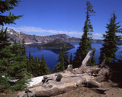 Jim Nelson Photograph - Crater Lake by Jim Nelson