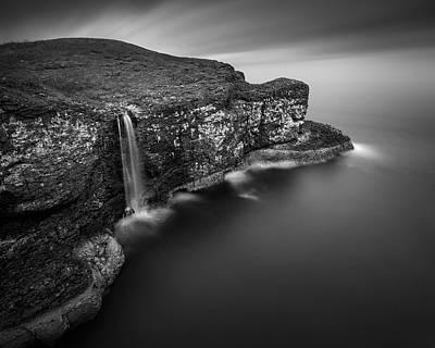 Crawton Cliffs Print by Dave Bowman