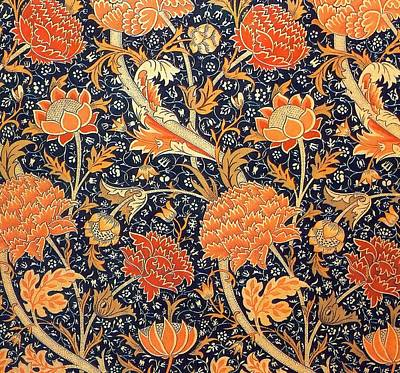 Cray Pattern Print by William Morris