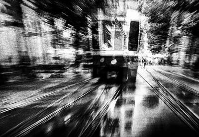 Tram Photograph - Crazy Driver by Samanta