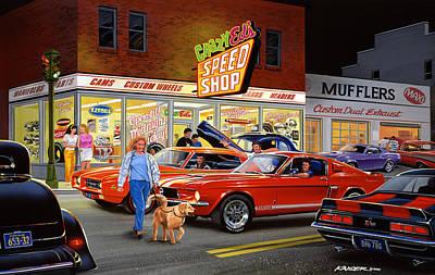 Camaro Photograph - Crazy Eds by Bruce Kaiser