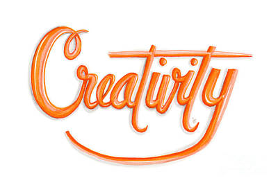 Creativity Drawing - Creativity by Cindy Garber Iverson