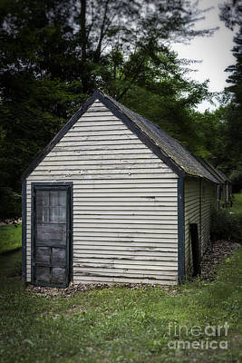 Creepy Photograph - Creepy Old Cabins by Edward Fielding