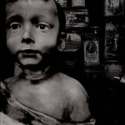 Toy Shop Photograph - Creepy Old Stuff by Marco Oliveira