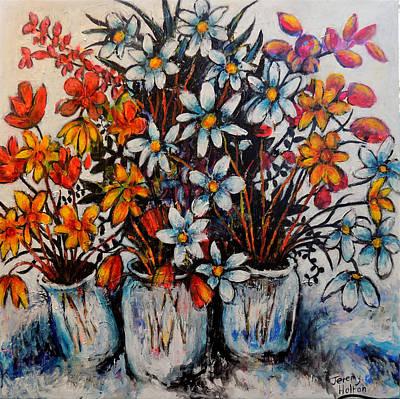 Crescendo Of Flowers Original by Jeremy Holton
