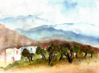 Creta's Landscapes Original by Karina Plachetka