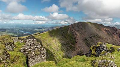 Miner Photograph - Crib Goch Mountain by Adrian Evans