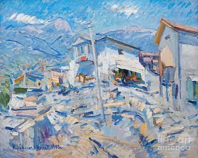 Landscape Painting - Crimean Landscape by Celestial Images