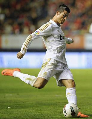 Cristiano Ronaldo Photograph - Cristiano Ronaldo 2 by Rafa Rivas