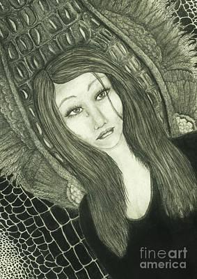 Crocodile Tears Original by Wendy Wunstell
