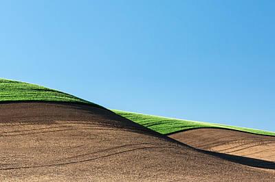 Hilltop Scenes Photograph - Crop Top by Todd Klassy