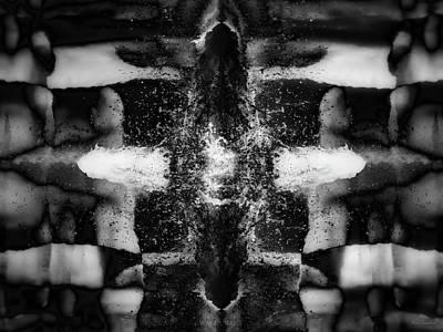 Spatial Digital Art - Crosmos by Wim Lanclus