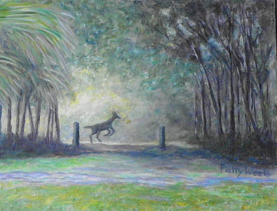 Rawlings Painting - Cross Creek Morning In Old Florida by Patty Weeks