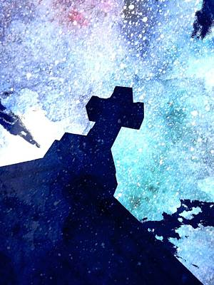 The Kid Behind The Cross Original by Mark J Dunn