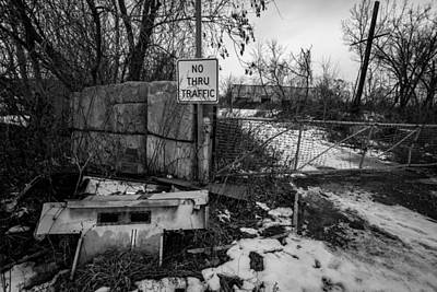 Abandoned Photograph - Crossroads by George Patterson