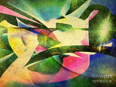 Painting -  Crossroads Worlds by Sergey Lukashin