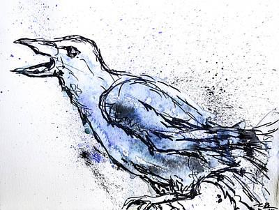 Crow Original by Melissa Brazeau