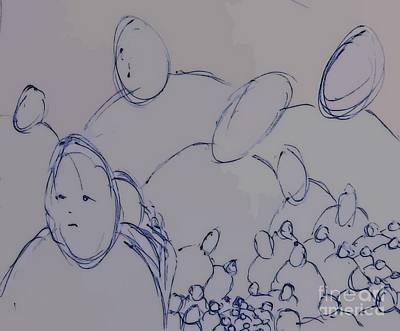 Crowd Original by John Malone