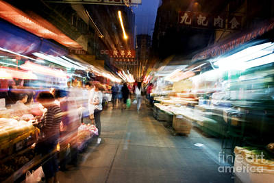 Crowds Moving Through Jordan Print by Ray Laskowitz - Printscapes