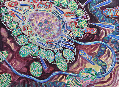 Crown Jewels Original by Shoshanah Dubiner