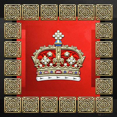 Crown Of Scotland  Original by Serge Averbukh