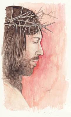 Religious Art Mixed Media - Crown Of Thorns by Morgan Fitzsimons