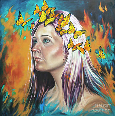Painting - Crown Of Transformation by Ilse Kleyn
