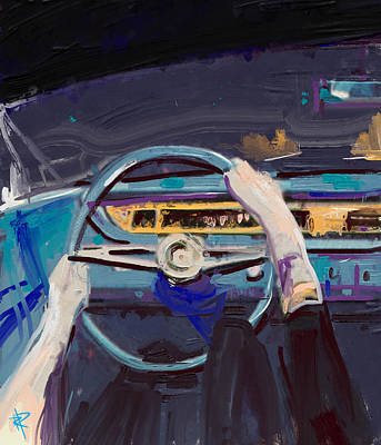 Cruise Control Print by Russell Pierce