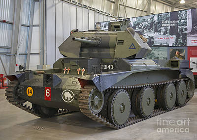 Cruiser Tank Mark IIi In Bovington, Uk Print by Ivan Batinic
